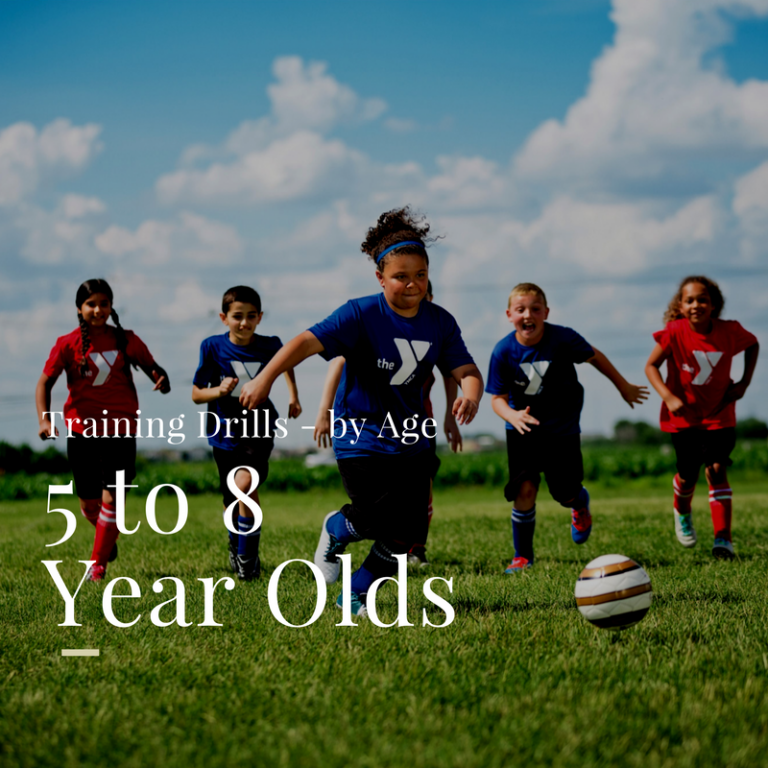 Soccer Drills For 5 To 8 Year Olds Top Soccer Drills For Youngsters Soccer Coaching Drills Soccer Training Drills Soccer Practice Drills