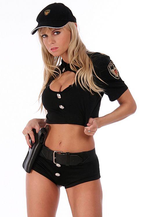 Partystrip als US-Cop