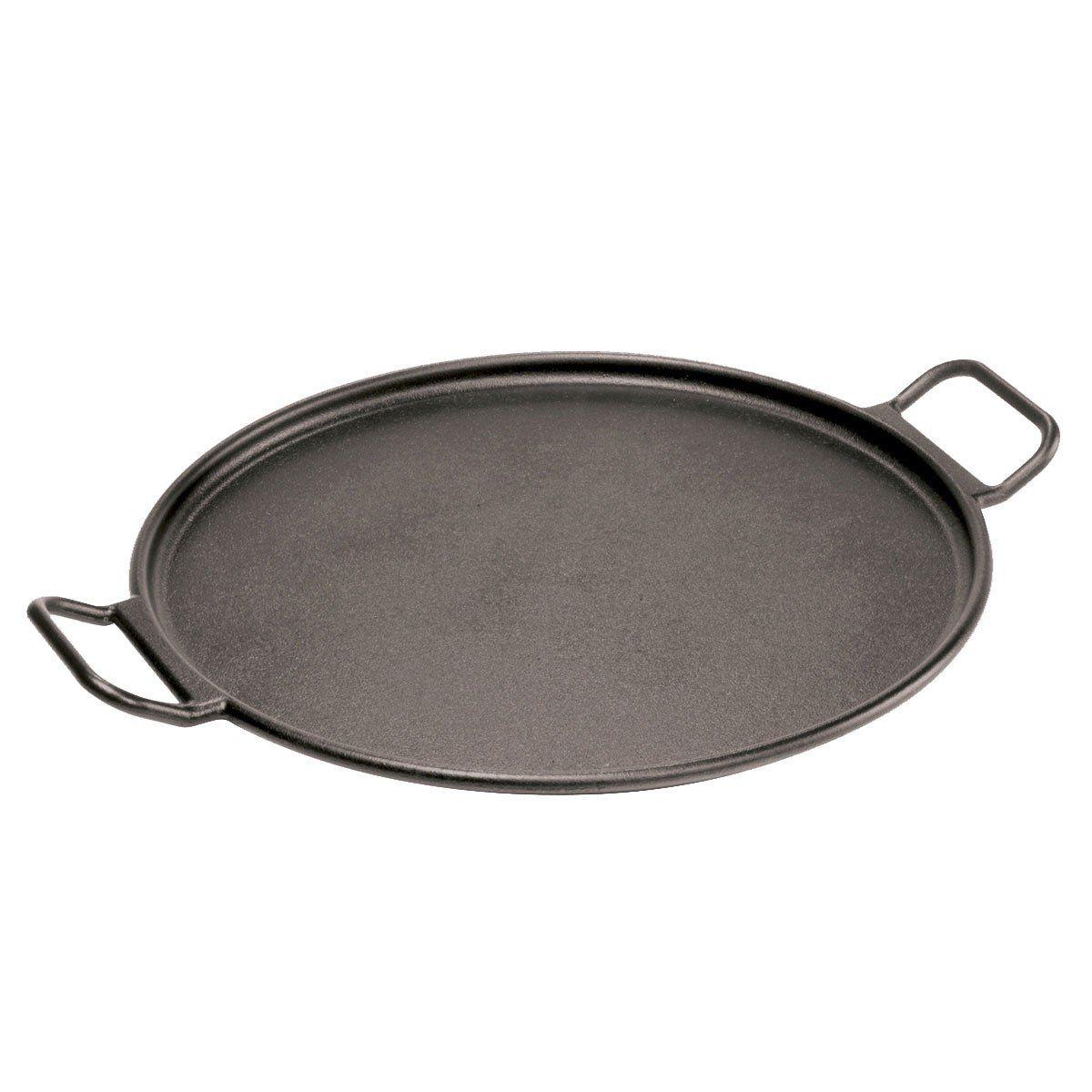 Lodge 8 Inch Round Cast Iron Pan w//Loop Handles