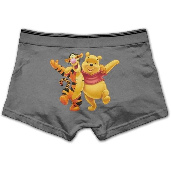 6935cc4fd Men Hot Winnie The Pooh Tigger Boxer Briefs ( 8.50) ❤ liked on Polyvore  featuring men s fashion