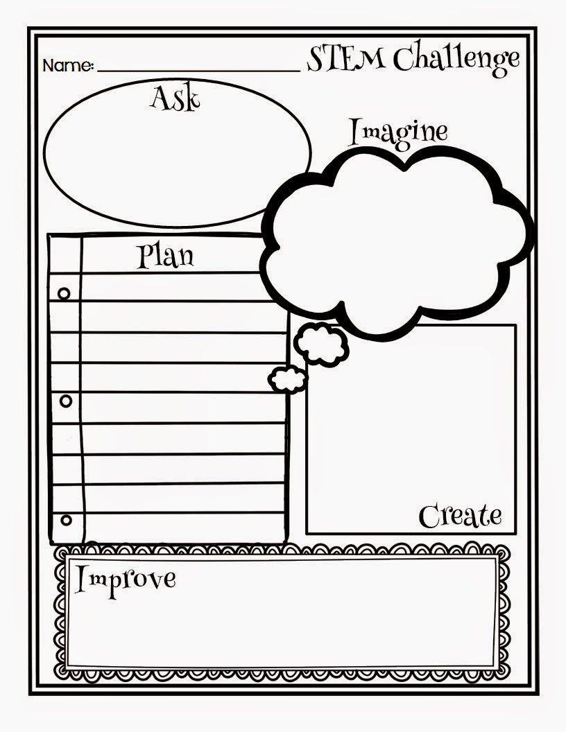 Worksheets Engineering Design Process Worksheet teaching students to use the basic engineering design process on a dime 3 stem challenges you can do today