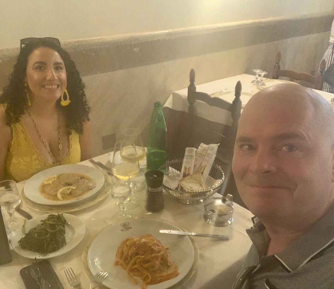 Birthday Lunch in Rome!