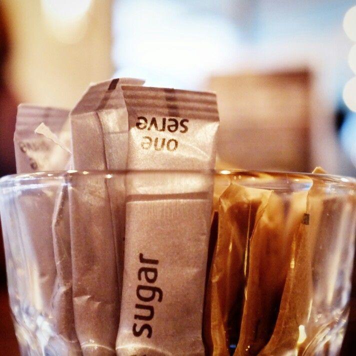 Sugar. One serve only.