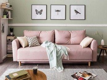 Sofa mit Decke und Kissen in 2020 | Wohnzimmer einrichten ...