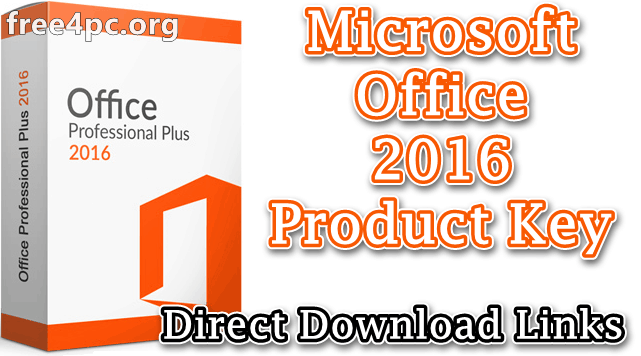 Microsoft Office 2016 Product Key 2020 Free Download Latest Excelwordaccessetc In 2020