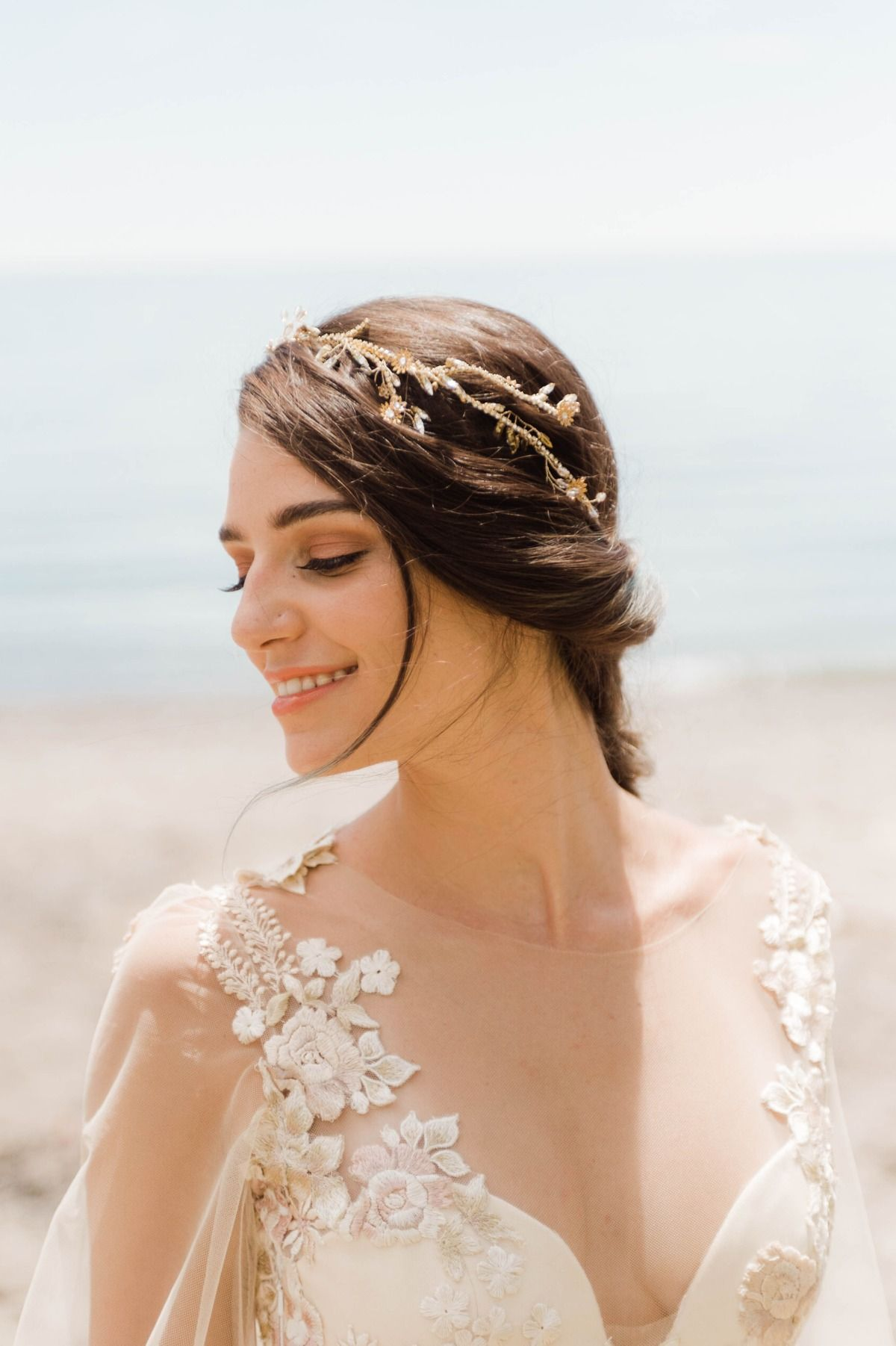 let's elope like this next summer   hair adornments