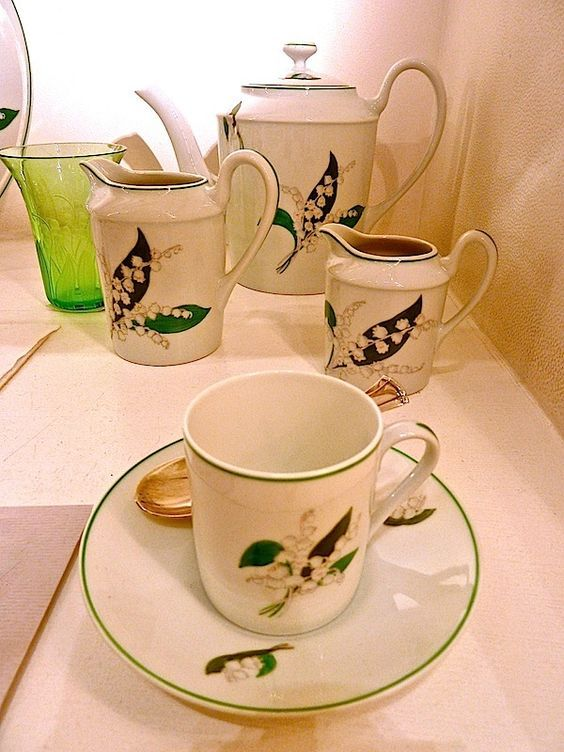 Dior tableware | Kevad ja piibelehed - Spring and Lily of the Valley ...