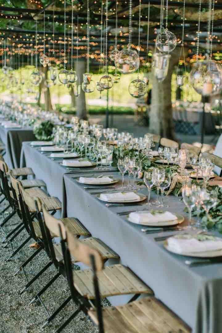 Top 20 Rustic Outdoor Table Settings | Wedding | Pinterest ...