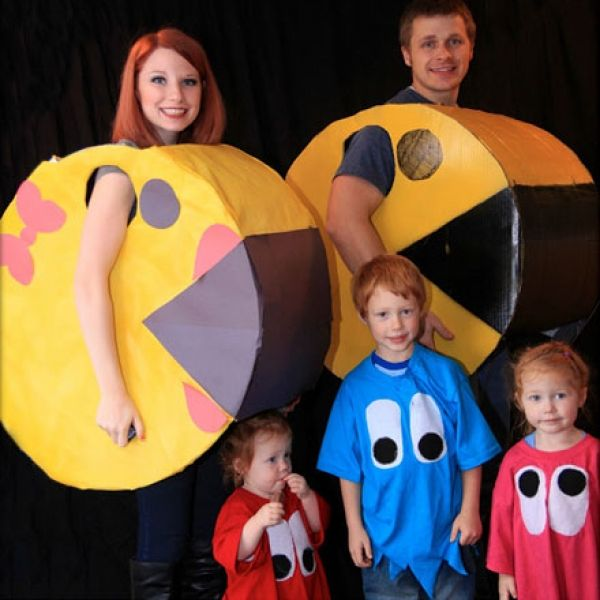 crafty family halloween costume ideas - Family Halloween Costumes For 4