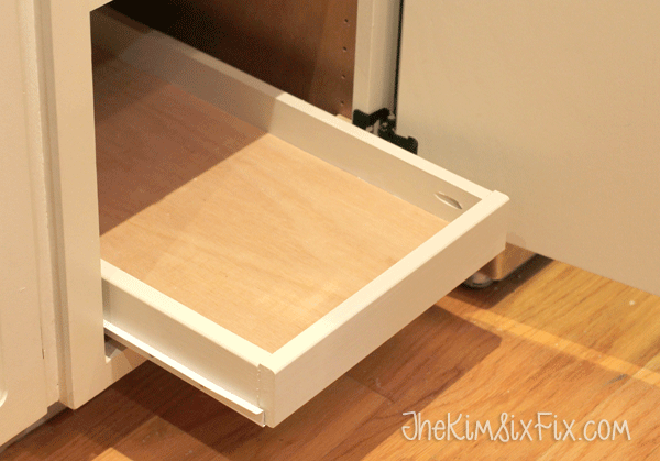 Organize Your Pantry With DIY Slide-Out Cabinet Shelves En