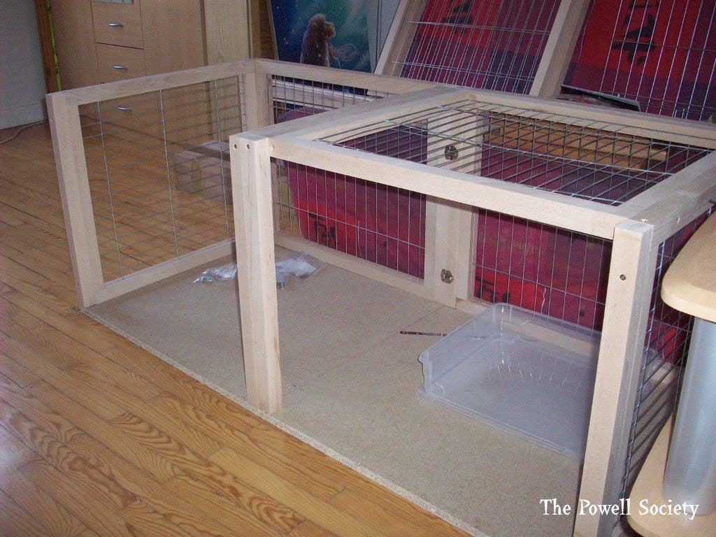 clapier d 39 int rieur pour lapin 3 id es pour la maison. Black Bedroom Furniture Sets. Home Design Ideas