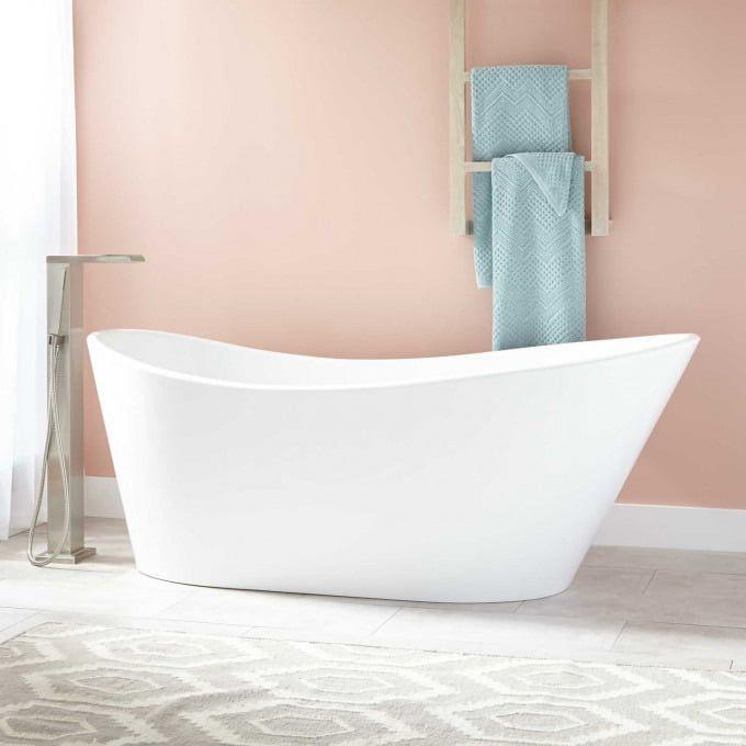Saunders Acrylic Freestanding Tub   Free standing tub, Air ...