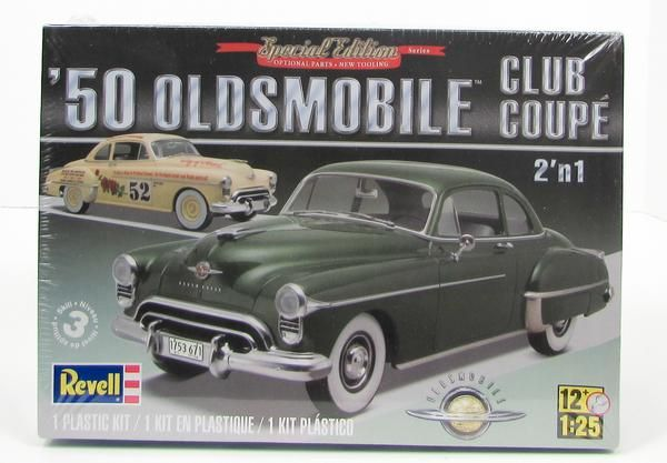 This 1950 Oldsmobile Club Coupe 2 N1 Car Model Kit Is Made By