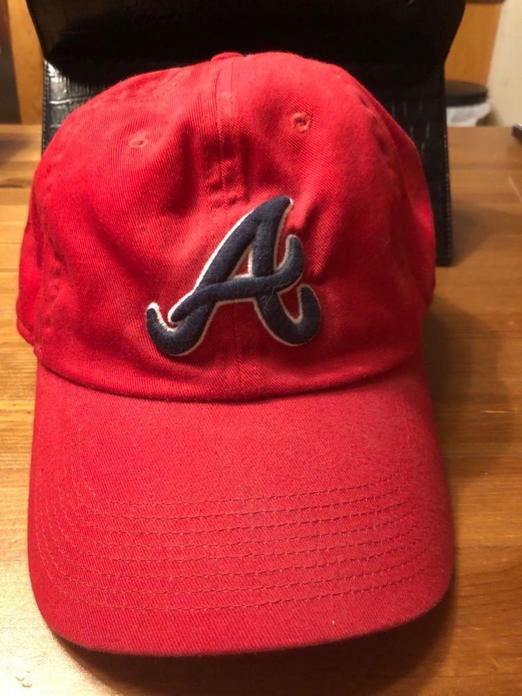0a10078b8f0 Atlanta Braves Nike logo ball cap.  fashion  clothing  shoes  accessories