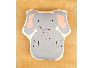 Eloise Elephant Pillow