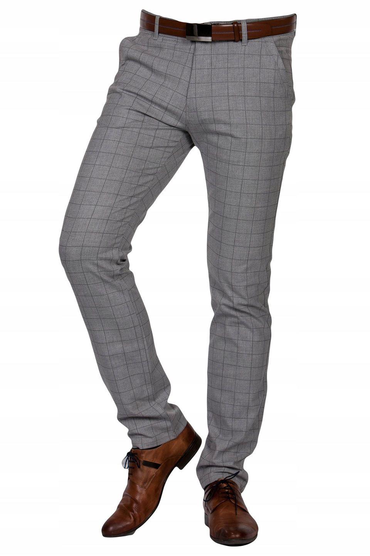 Spodnie Wizytowe Szare W Krate 2000 Rozm 32 8052907956 Oficjalne Archiwum Allegro Mens Outfits Pantsuit Ralph Lauren