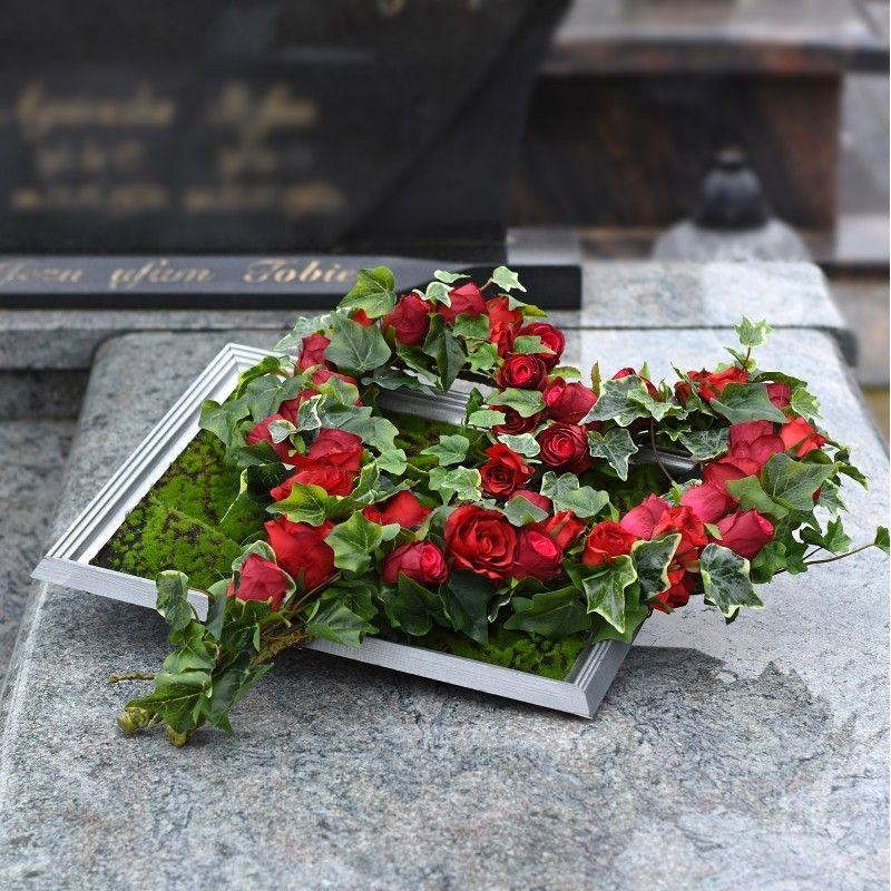Dekoracja Nagrobna Nr 655 Funeral Flower Arrangements Funeral Flowers Unique Flower Arrangements