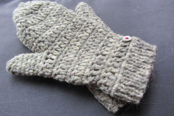 Manoplas de lana para parejas - mujer, Complementos, Guantes ...