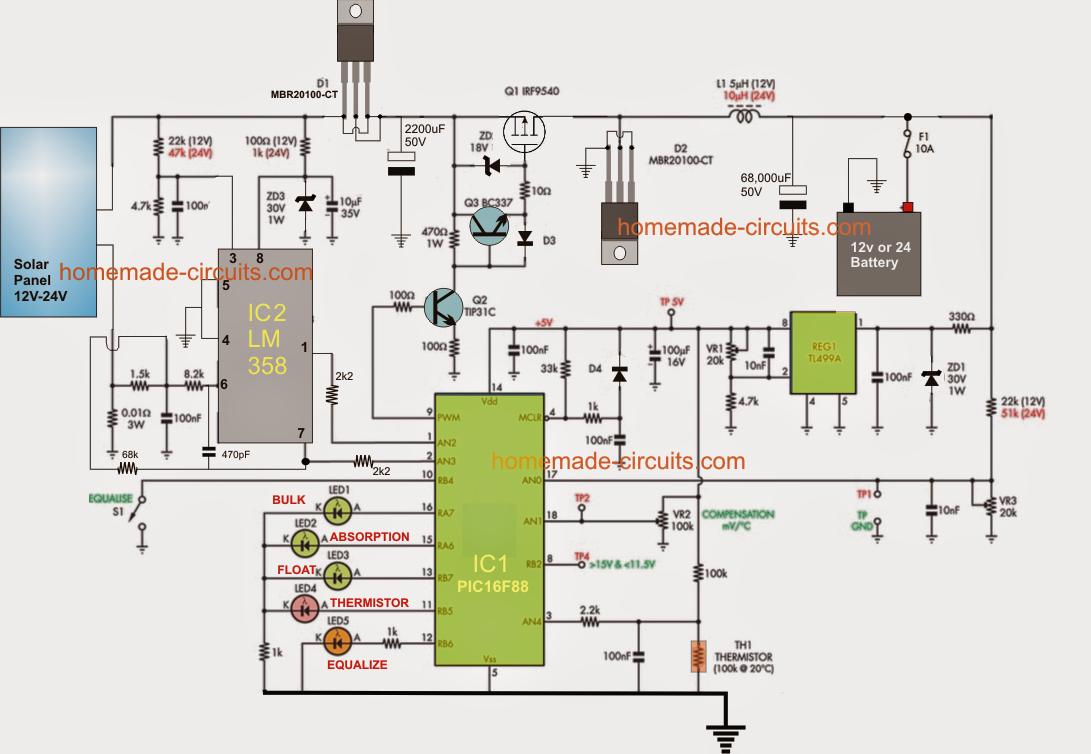 Pin Adugat De Marius Pe Mppt Pinterest Solar Power System Electronic Circuit Diagram Project Electrical Projects Diy Electronics Circuits Arduino