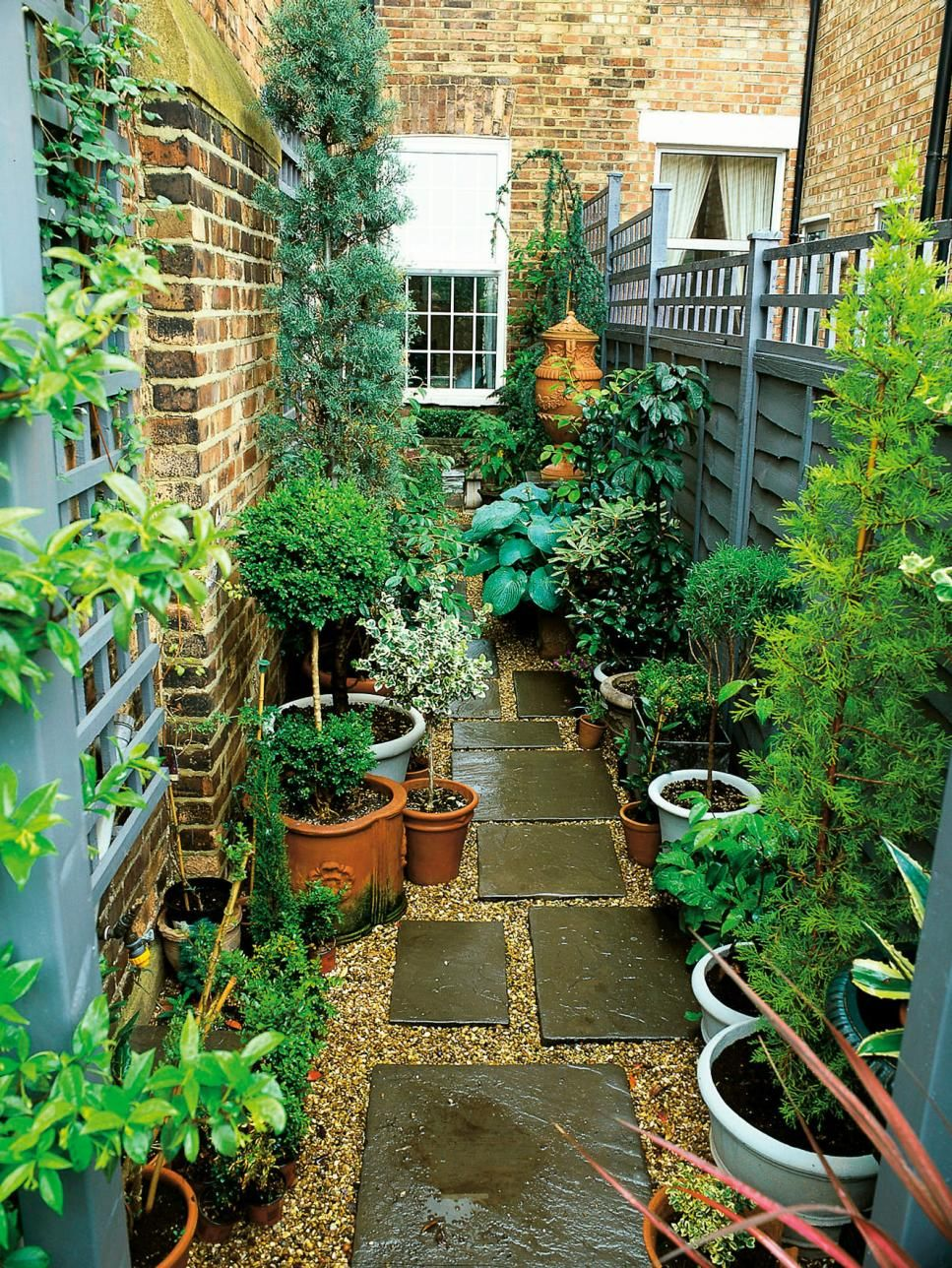 Landscaping Ideas For Skinny Yards And Garden Spaces Small