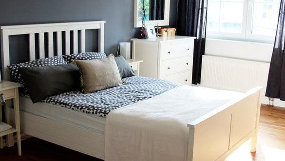 Side By Side Ikea Hemnes Dressers In The Guest Room In Naples