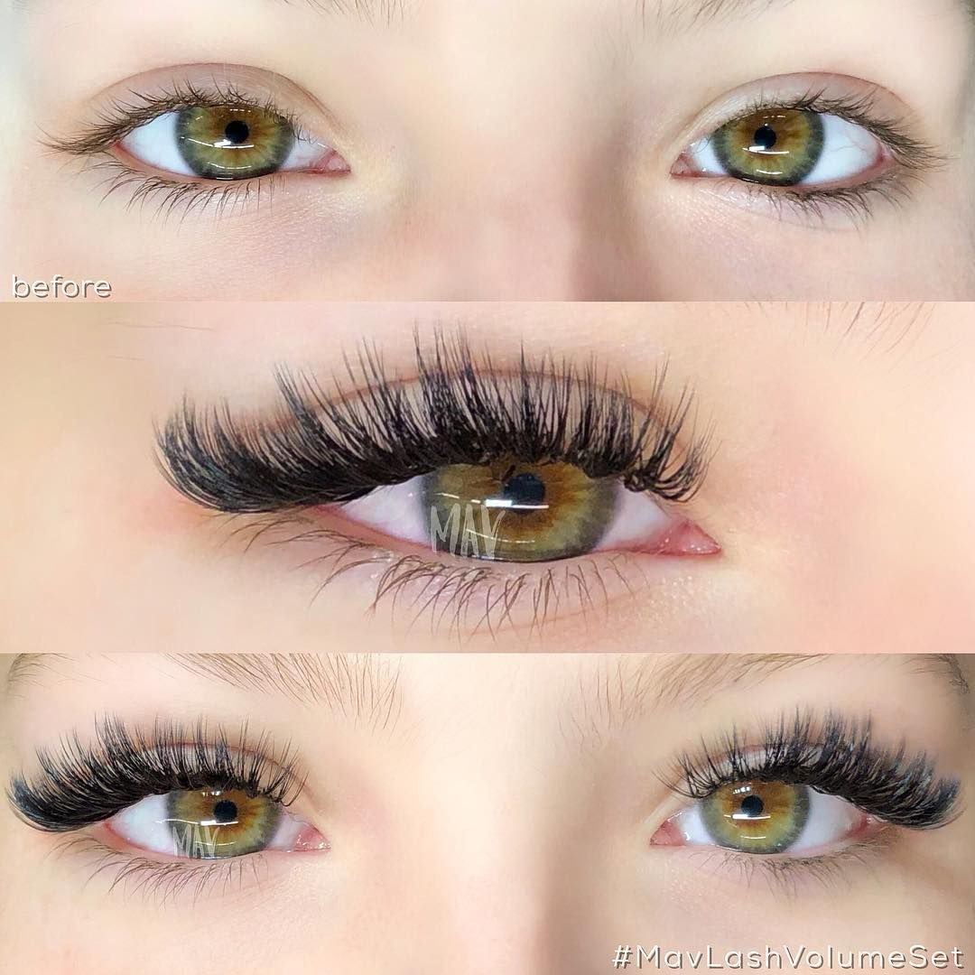 Hollywood's got an obsession with long, thick lashes. And