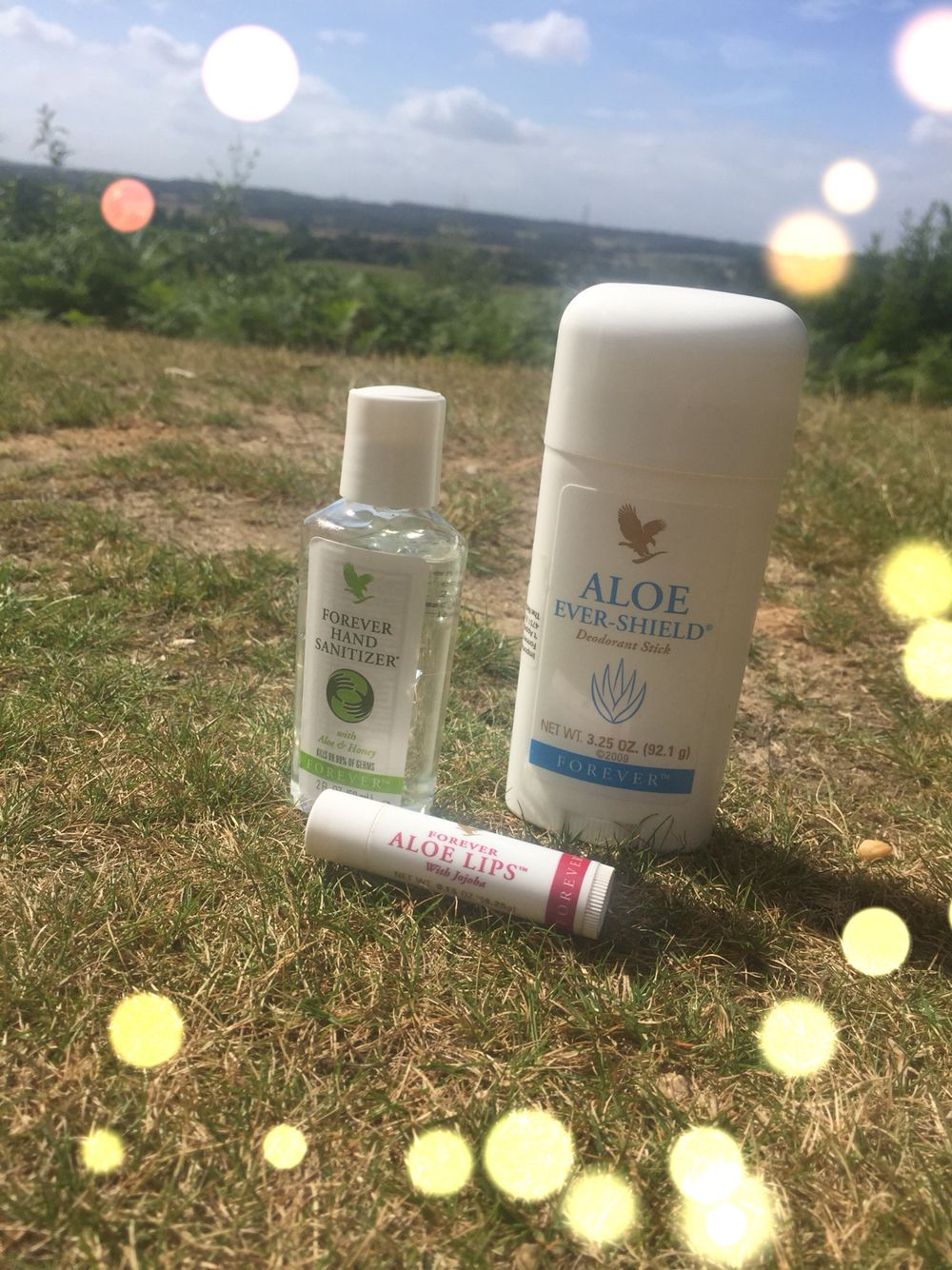 Handbag Essentials Aloe Lips Forever Hand Sanitizer Aloe Ever