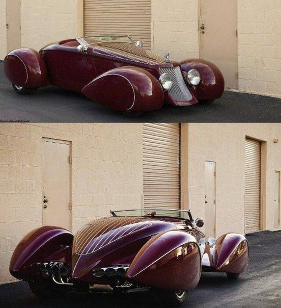 1937 Studebaker Custom Boattail Convertible Speedster