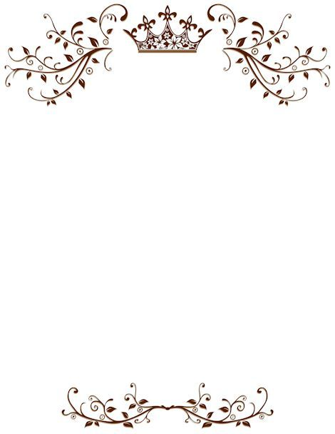 Royal Border Clip Art Page Border And Vector Graphics Wedding Borders Borders For Paper Wedding Invitations Borders