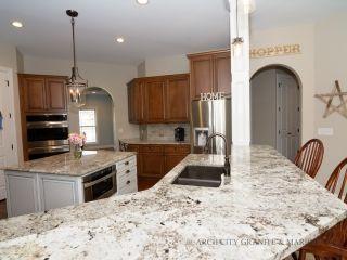 Blanco Silgranit Sink Mounted With Alaska White Granite Kitchen