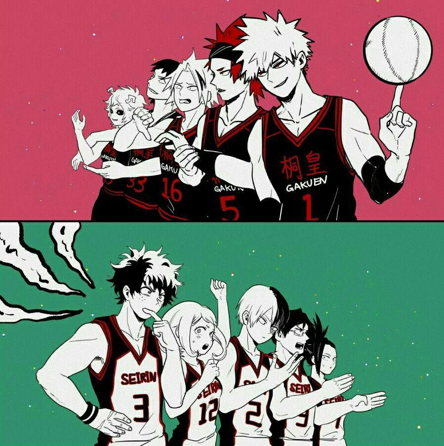 Basketball Au My Hero Academia Memes My Hero Academia Hero