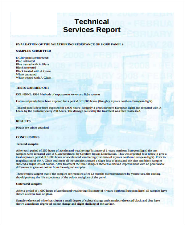 Technical Service Report Template 5 Professional Templates Report Template Pamphlet Template Professional Templates