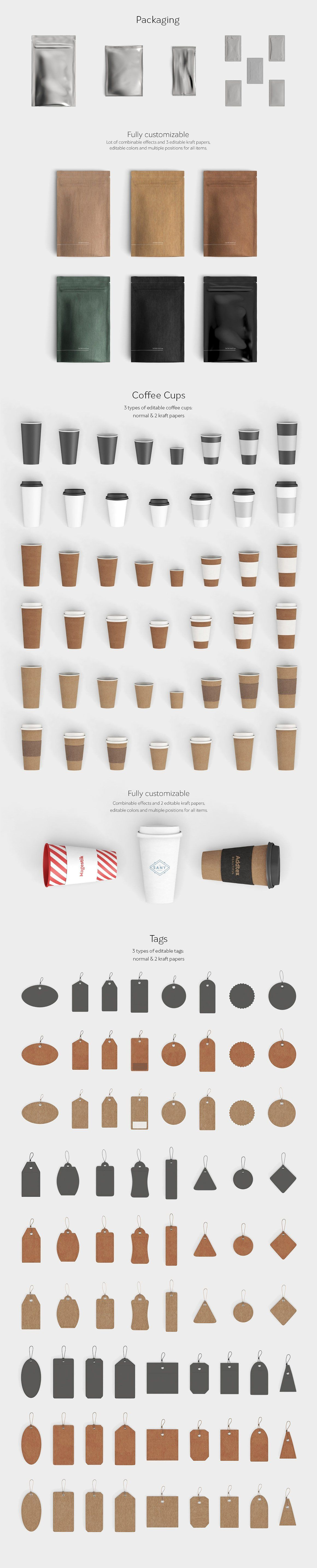 scene creator top view product mockups 13 brand style guide