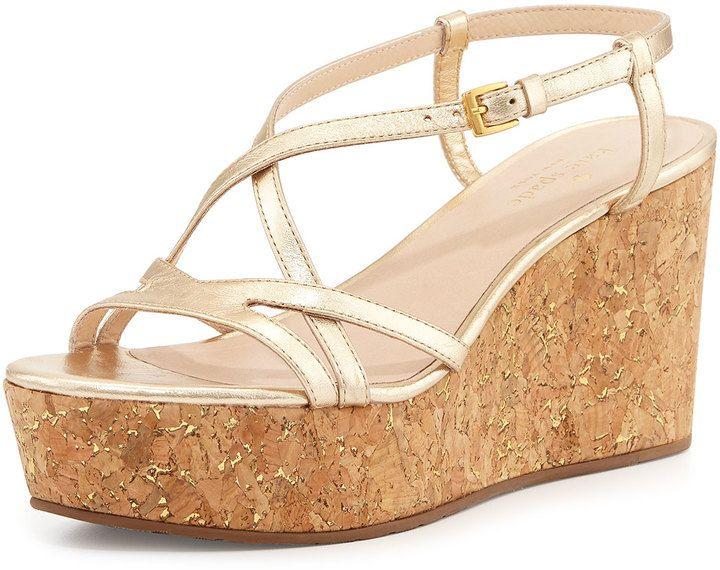 477301eb85ad Kate Spade Talanse Strappy Wedge Sandal