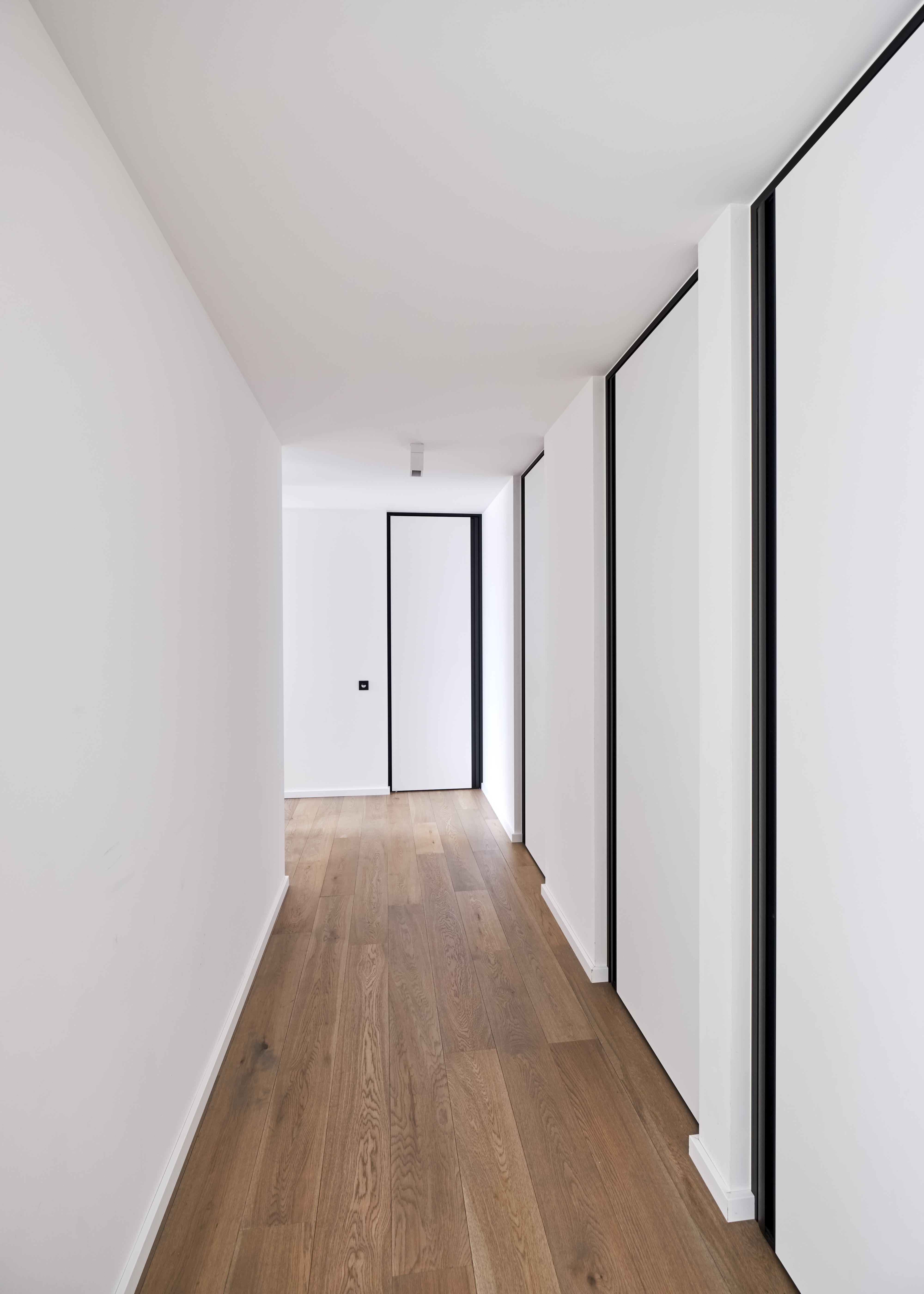 Modern interior doors from floor to ceiling with minimal black door ...