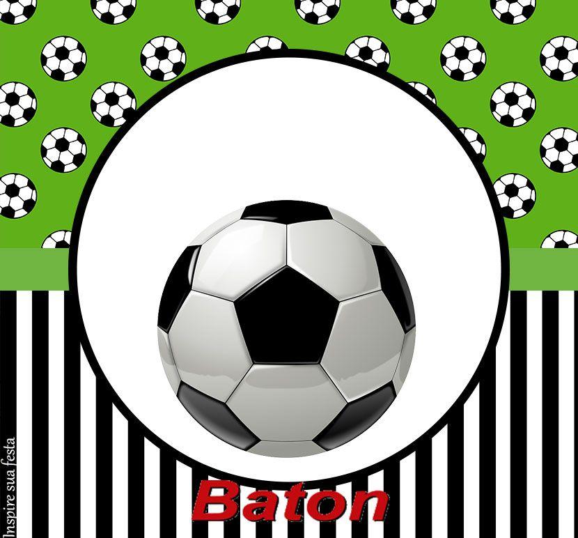 Set De Futbol Etiquetas Para Candy Bar Para Imprimir Gratis