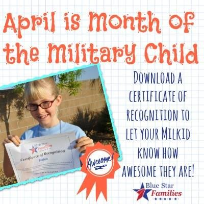 Military kids are AWESOME! Download a free certificate to present - army certificate of appreciation