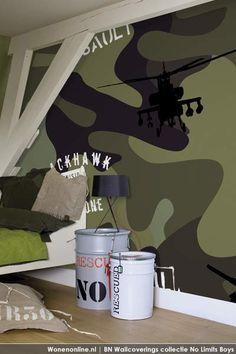 behang leger studio onszelf