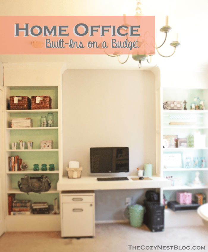 Billy Built Ins For Home Office Office Built Ins Built Ins
