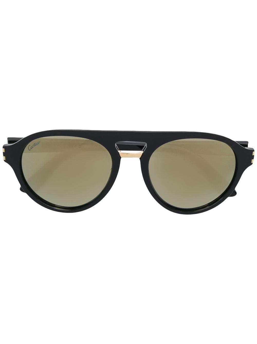 Cartier Eyewear C Décor aviator-frame Sunglasses – Farfetch