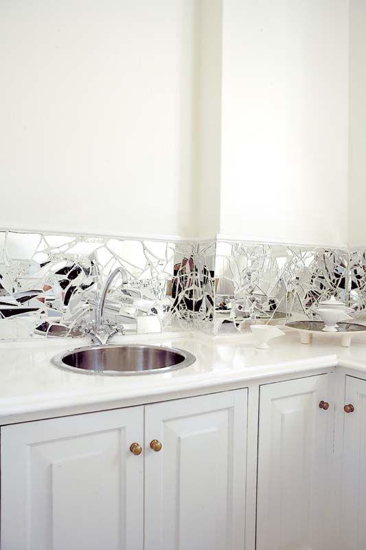 Like The Broken Mirror Splash Back Kitchen Mirror Mirror