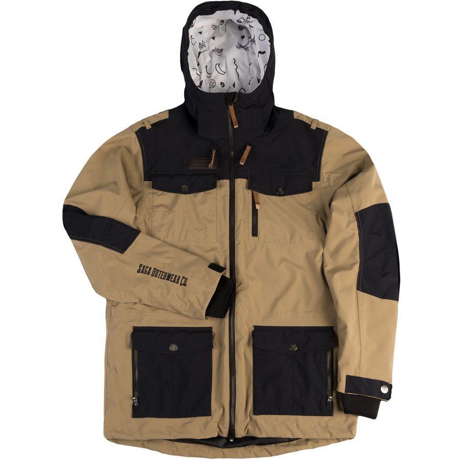 Saga Fatigue 2l Jacket Men S Snowboard Jacket Mens Jackets 2016 Jackets [ 900 x 900 Pixel ]