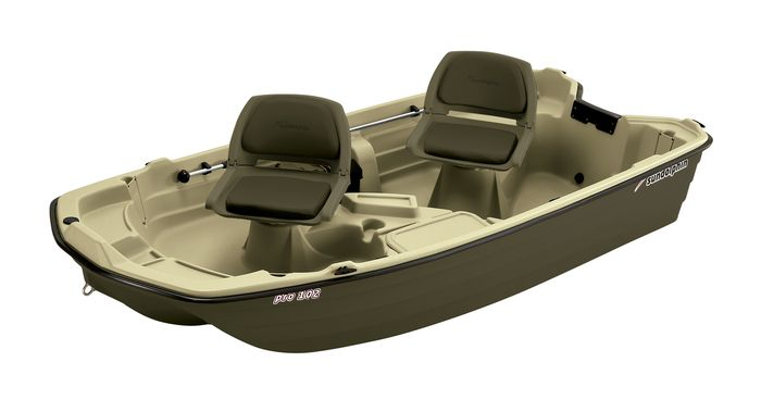 Pro 102 Two Person Small Fishing Boat Sun Dolphin Boats Small Fishing Boats Mini Pontoon Boats Fishing Boats