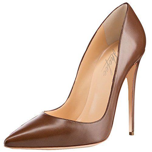 Chaussures à talon aiguille marron 1l3iVoqbZJ
