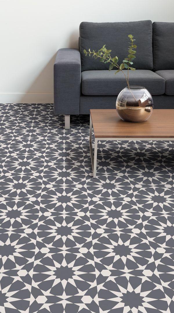 Rabat Tile Effect Vinyl Flooring Floor Design Vinyl Flooring