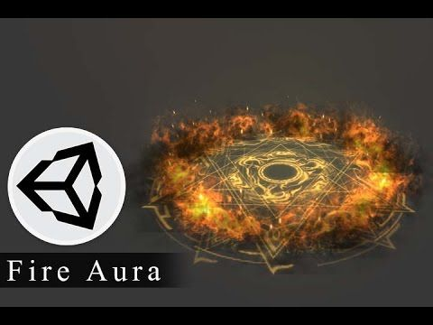 Fire Aura Effect tutorial in Unity | Game FX | Unity games