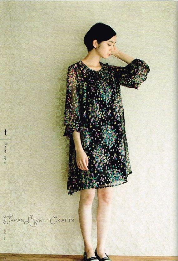 Formal Dress Patterns Yoshiko Tsukiori Japanese Sewing Pattern