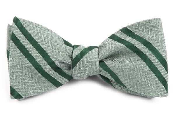 Wool Path Stripe Bow Ties Moss Green Ties Bow Ties And Pocket Squares Green Bow Tie Bows Stripe