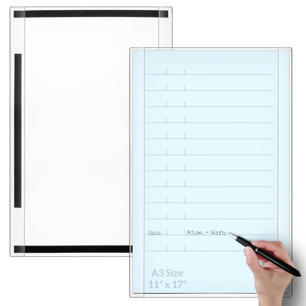 Open Face Document Frame Magnetic Back Ledger Size 11 X17 Document Frame Finding A House Visual Management