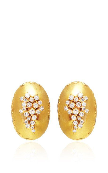 Africa Earrings by Vicente Gracia for Preorder on Moda Operandi